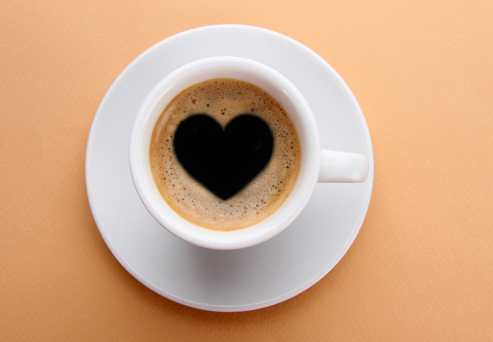 decaf coffee for heart