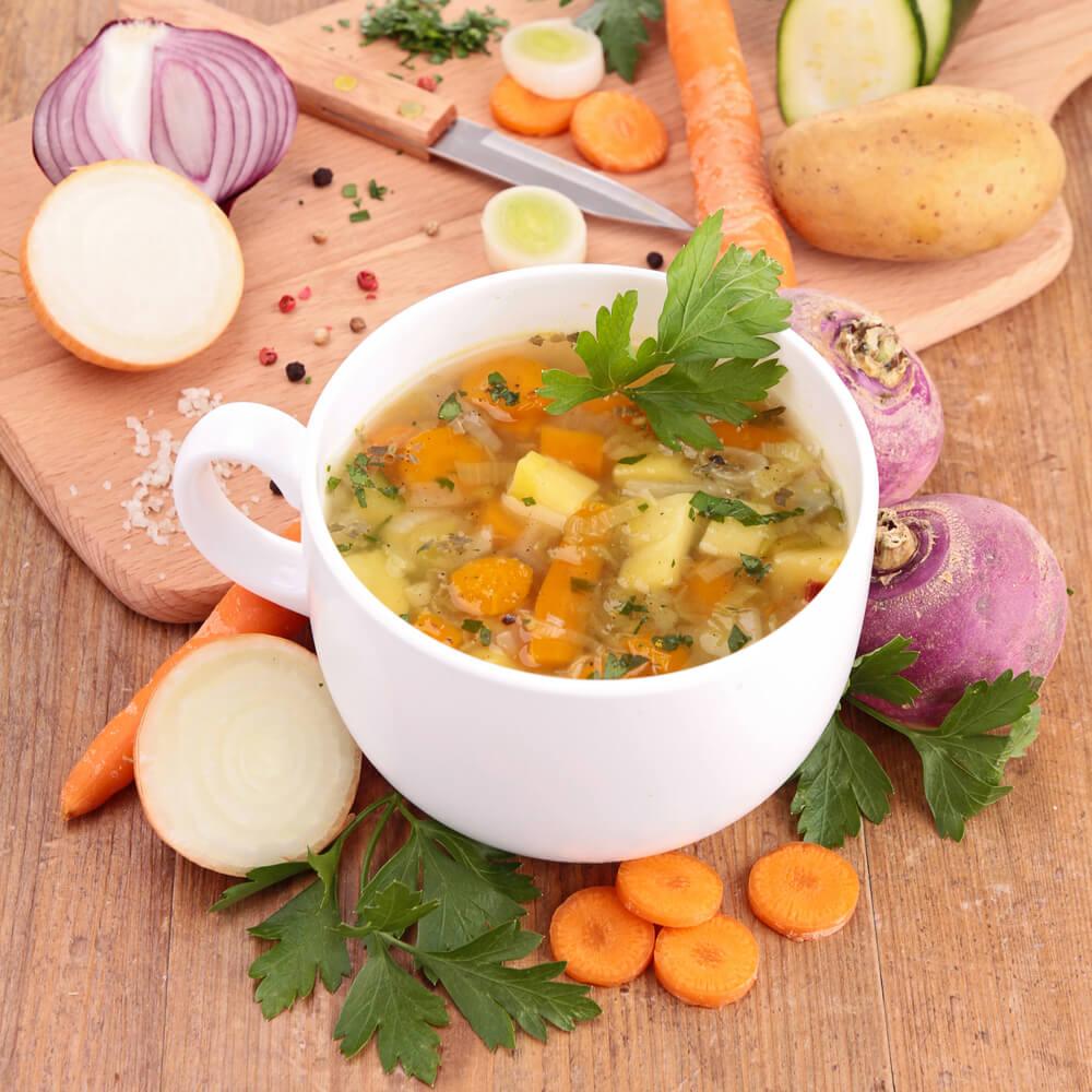 onion and turnip soup
