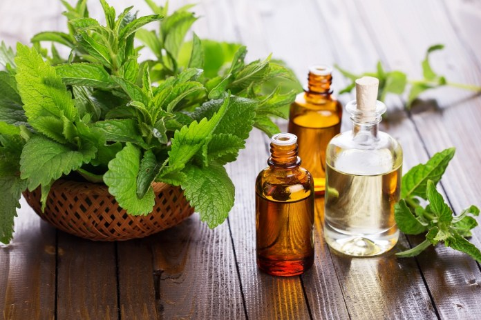 peppermint essential oil for neck pain