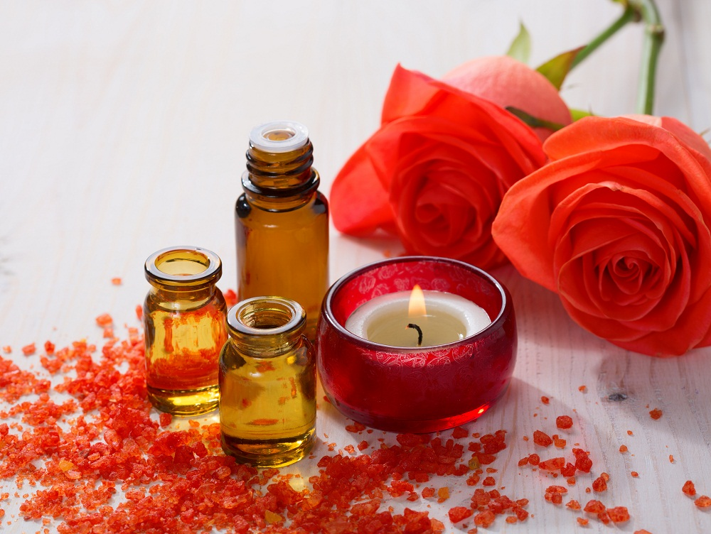 rose otto essential oil for PCOS