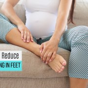 How to Reduce swelling in feet