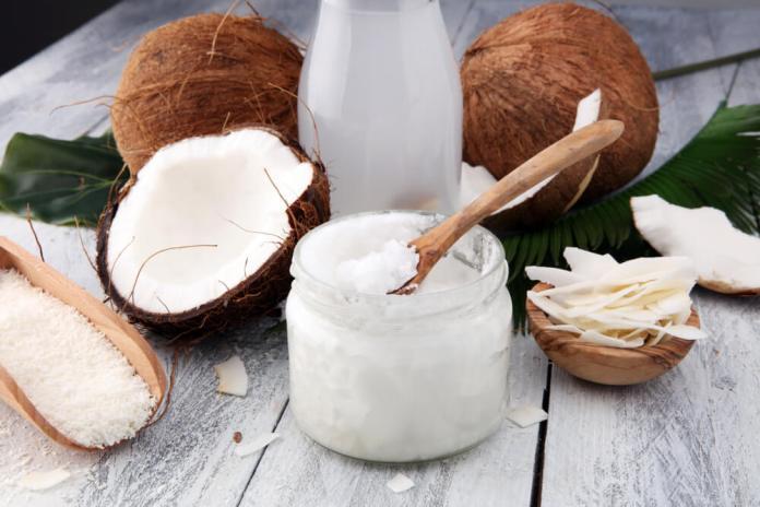 coconut oil for burn blisters