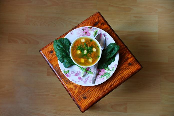 germ, spinach, and carrot soup-min