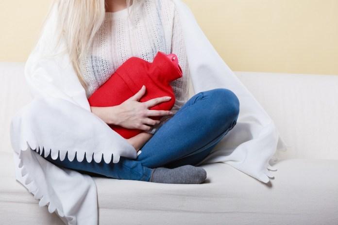 get rid of period cramps