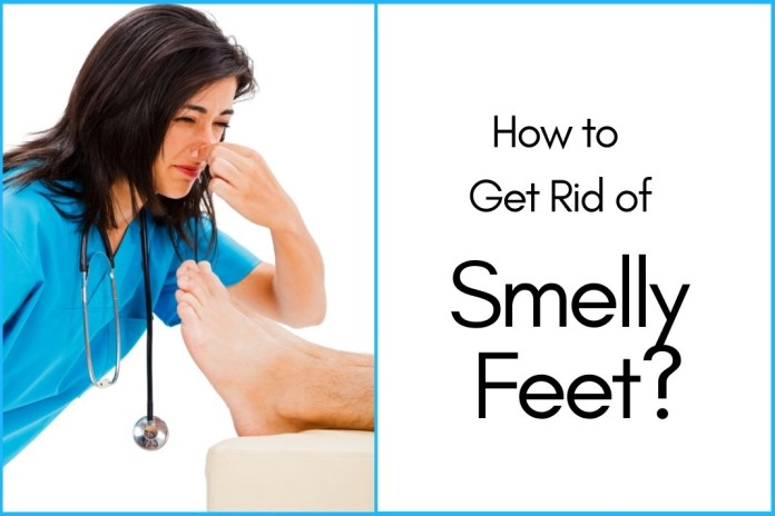 get rid of smelly feet