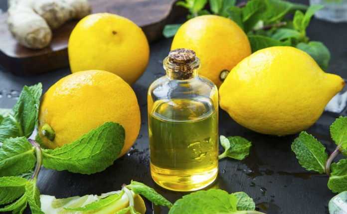 lemon essential oils for strep throat