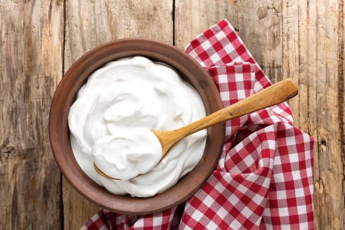 yogurt for redness of skin