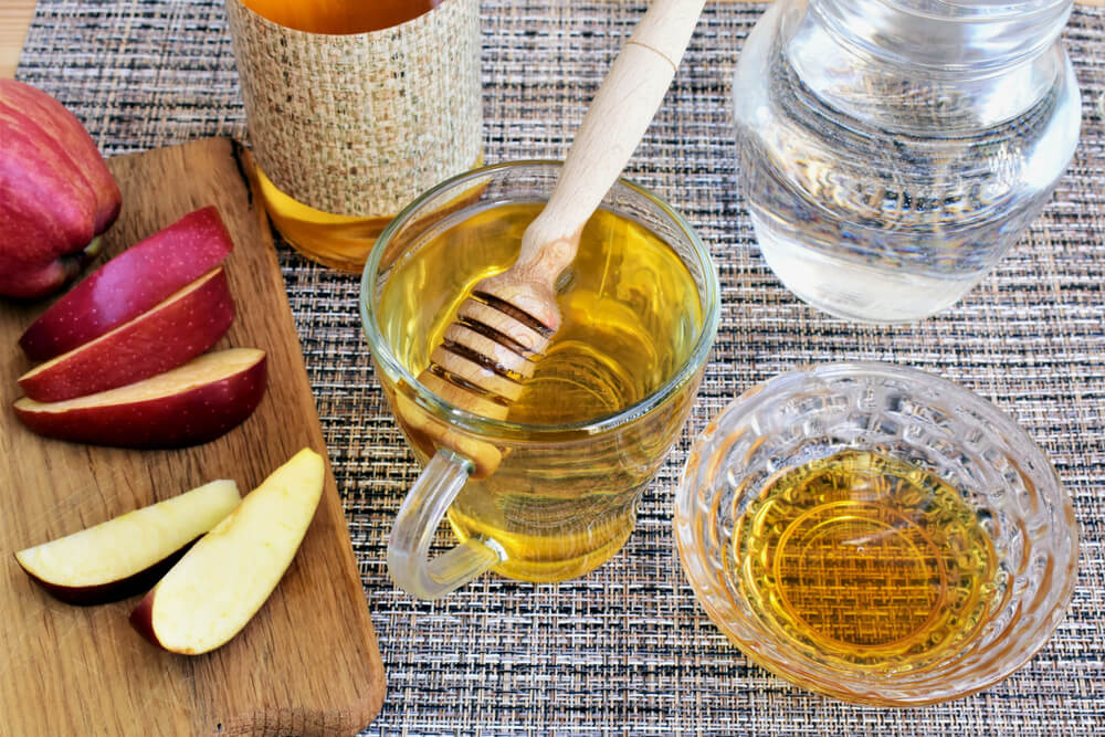Apple cider vinegar andhoney