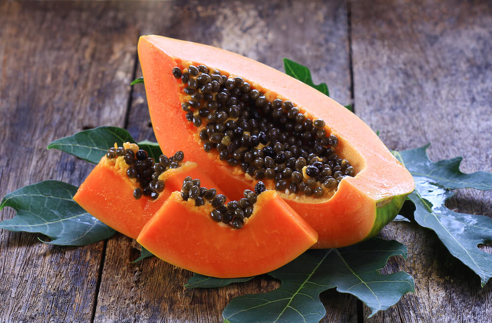 Use Papaya for hair problems