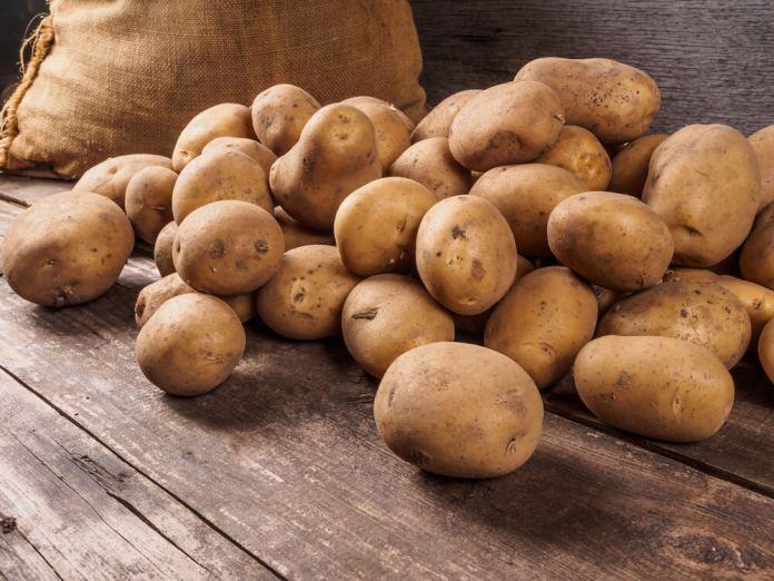 potatoes to cure sebaceous cyst