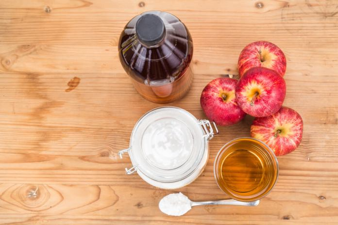 Apple Cider and Baking soda