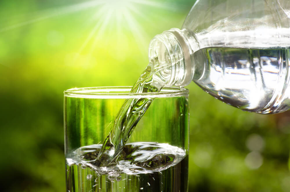 ACV and water for diarrhea