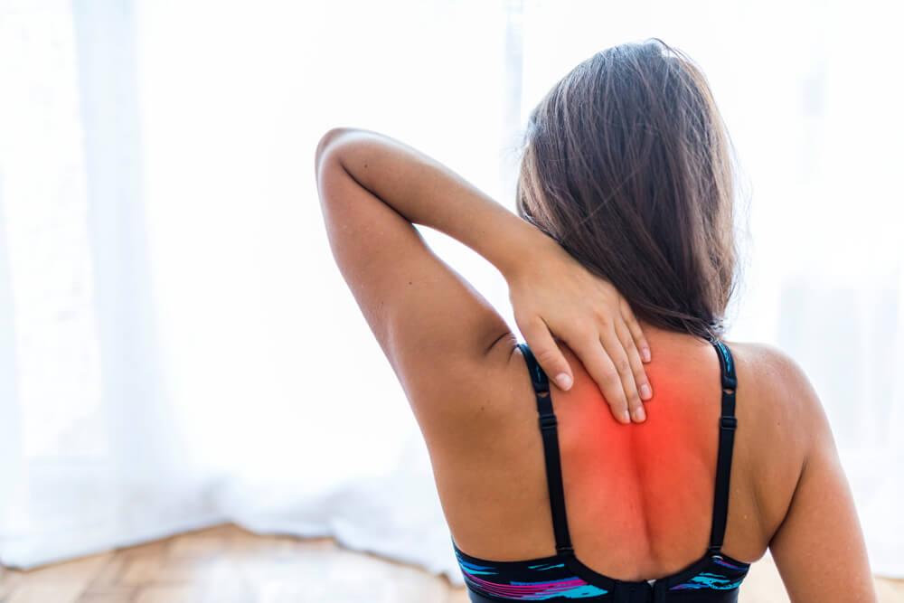 women suffering from pain