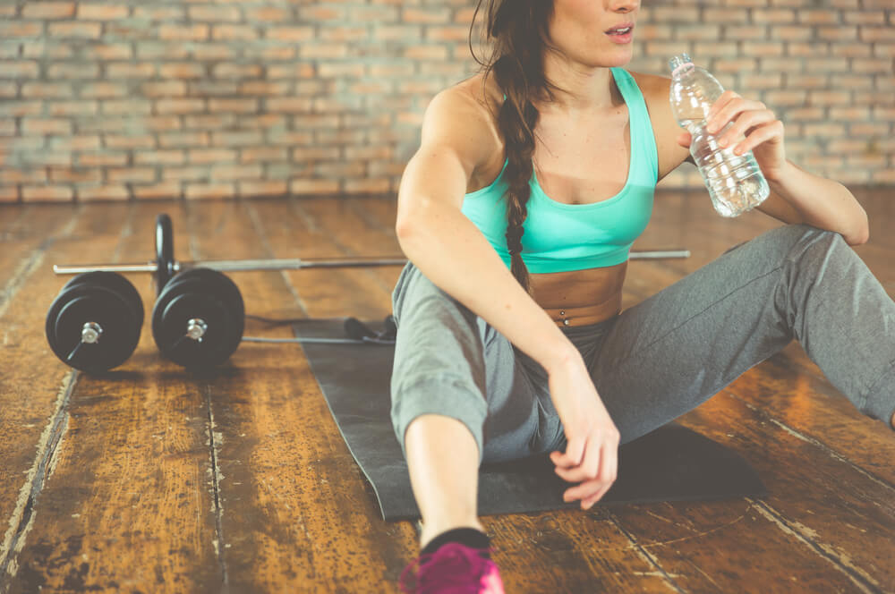 Drink water after workout