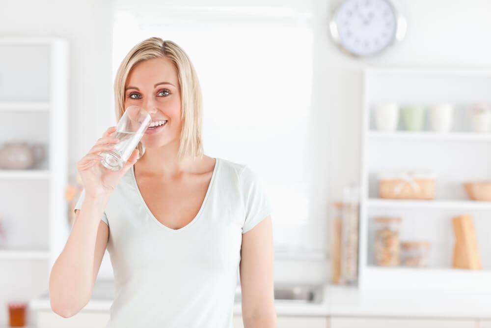 Drinking Water Posture