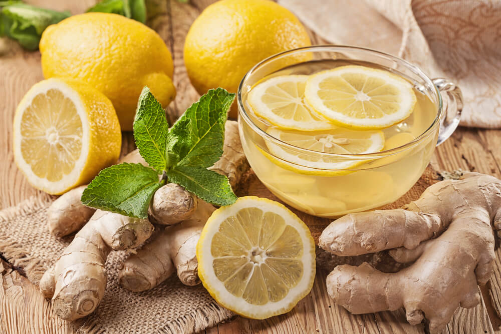ginger and lemon for hair growth