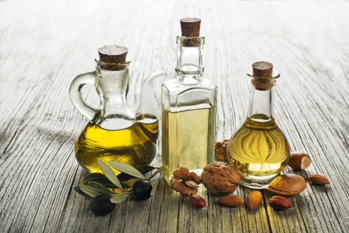 Olive oil & almond oil for hair