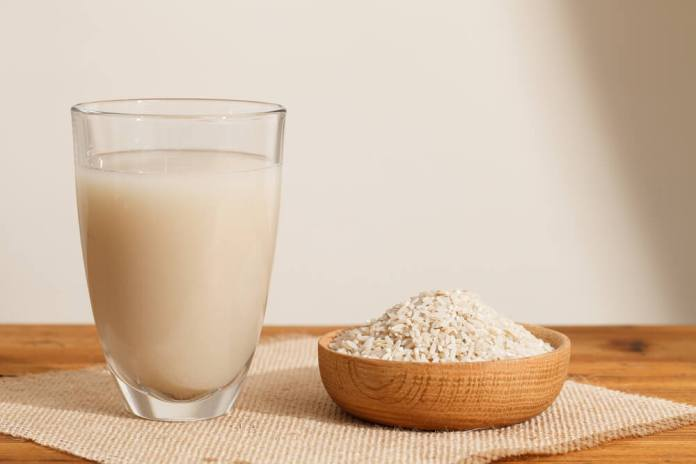 Plain Rice Water for hair growth