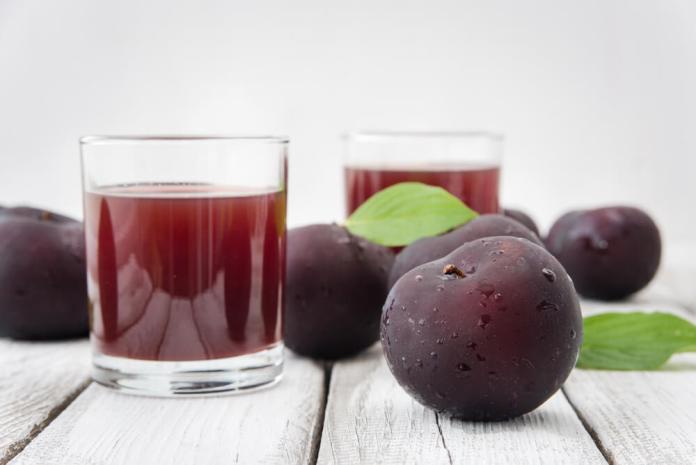 Prune juice for constipation