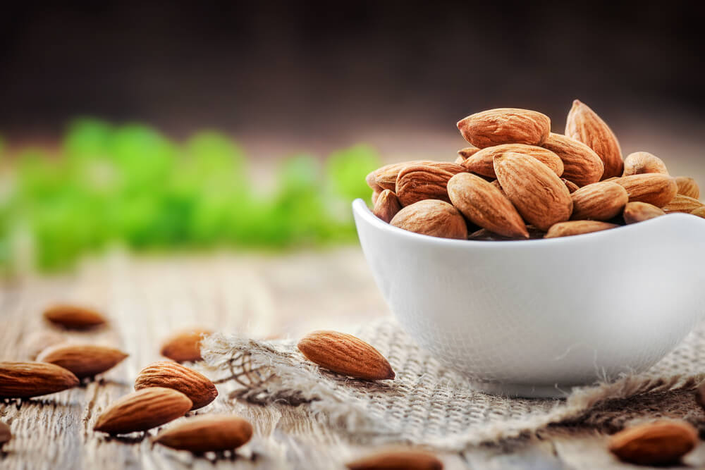 almonds for skin care