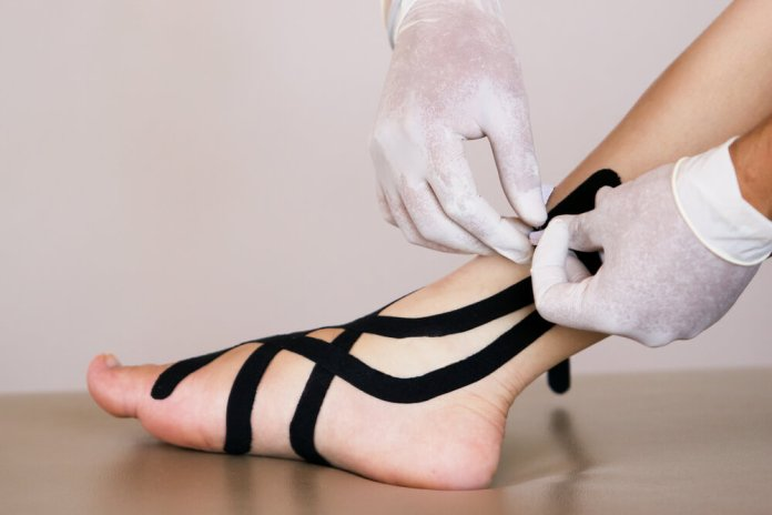 Benefits of KT Tape for Ankle