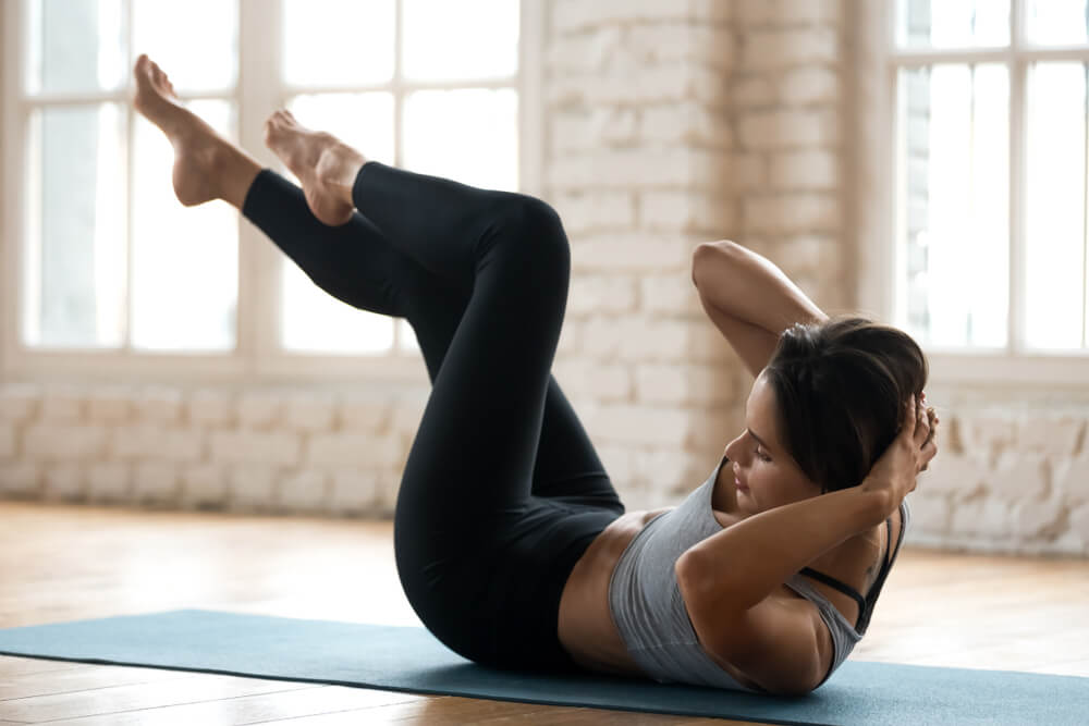 Crisscross Exercise for Weight Loss