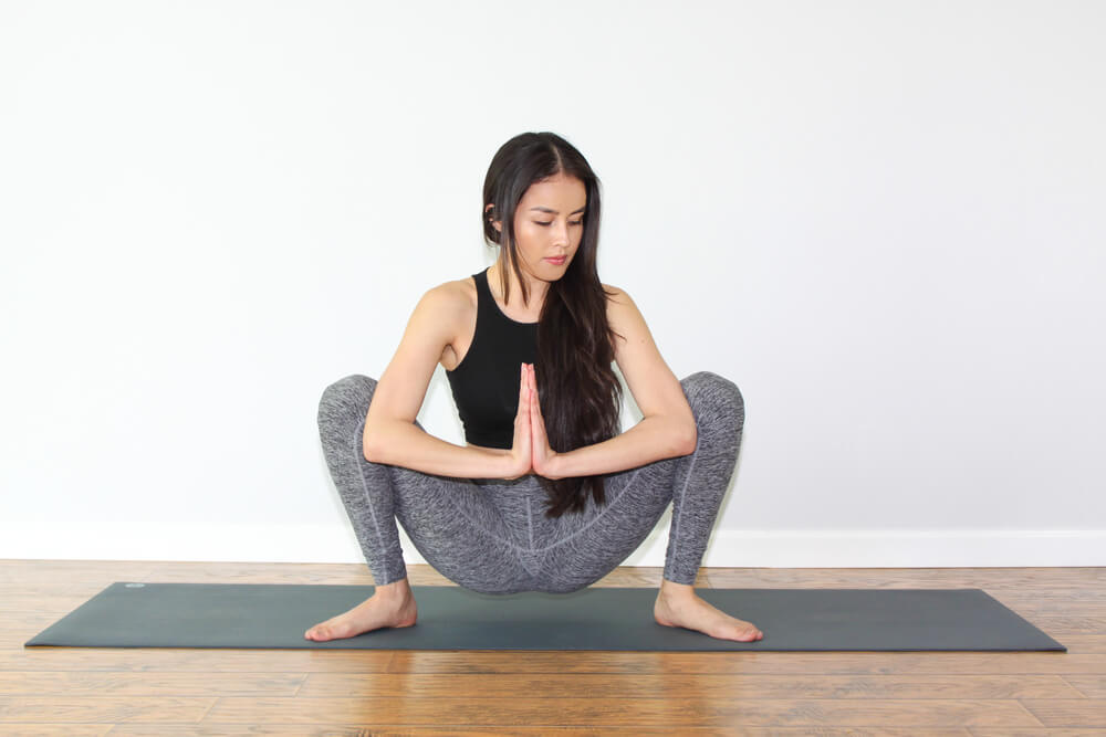 Extended Squat Pose