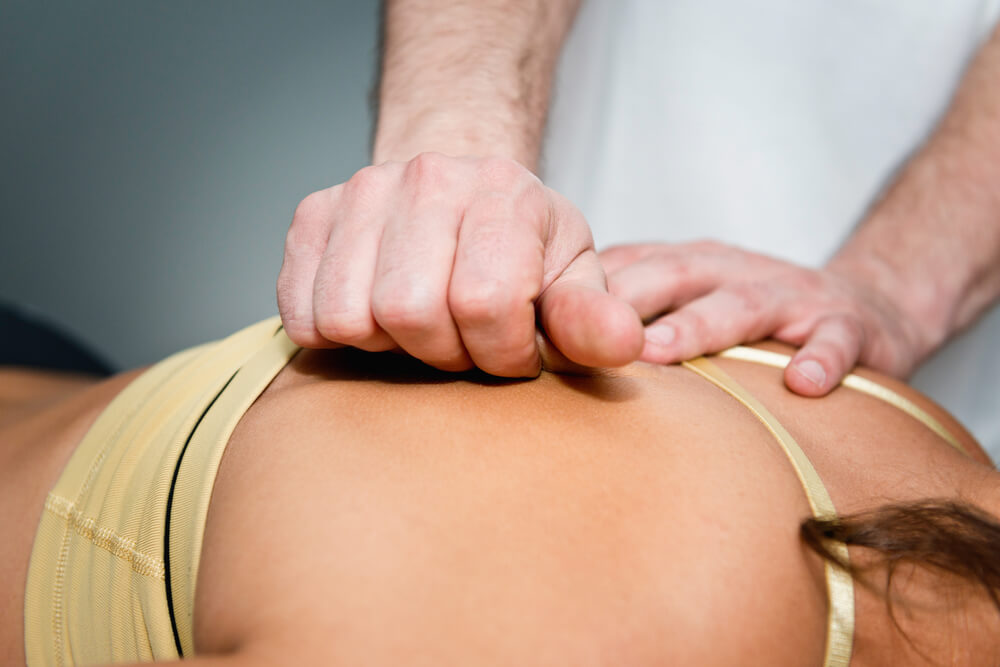 Myofascial Release Massage for back pain