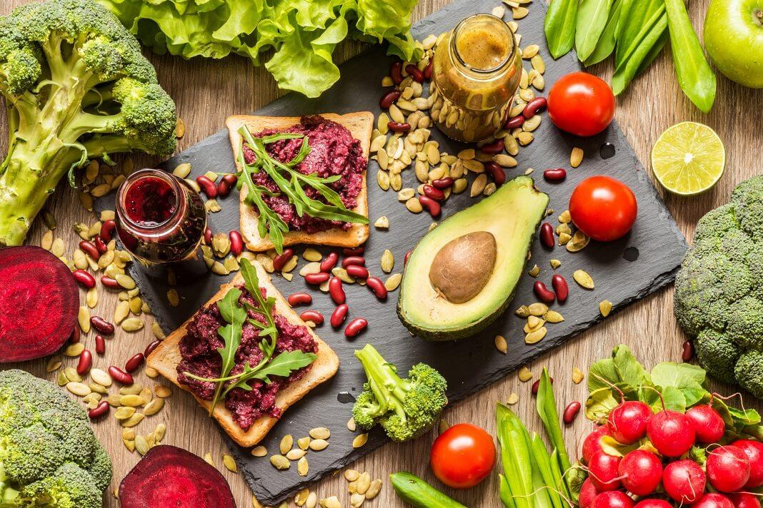 vegan foods Build Muscle