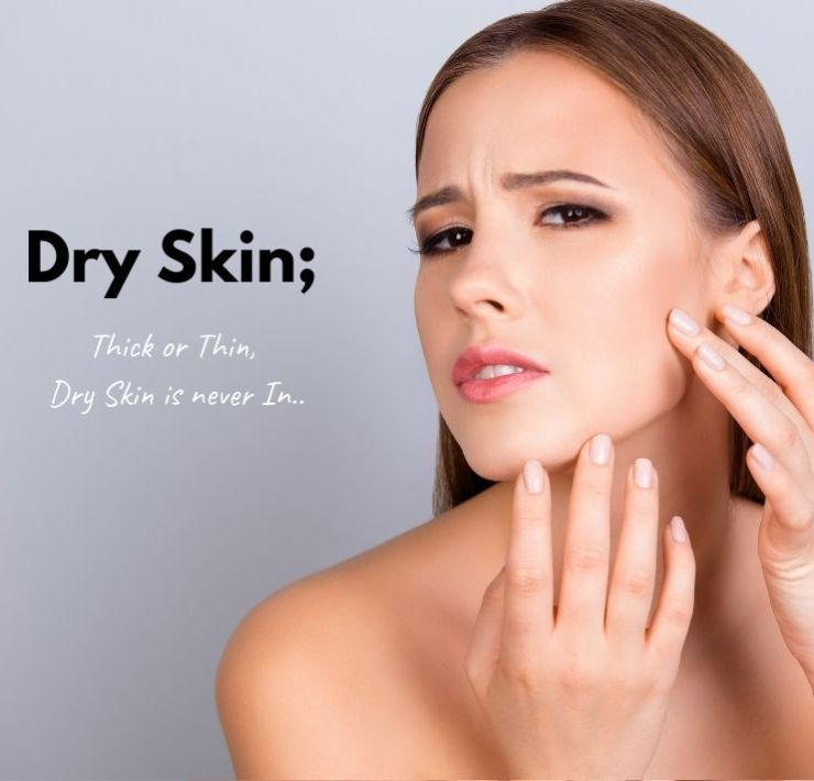 how to get rid of dry skin