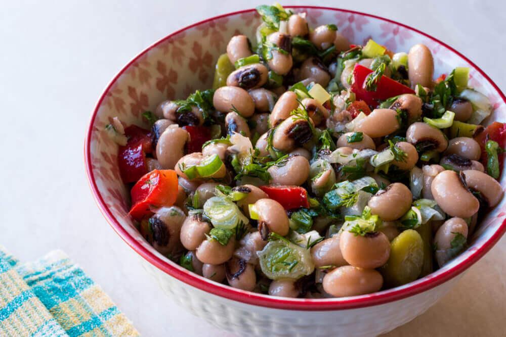 Vegetarian Black-Eyed Peas