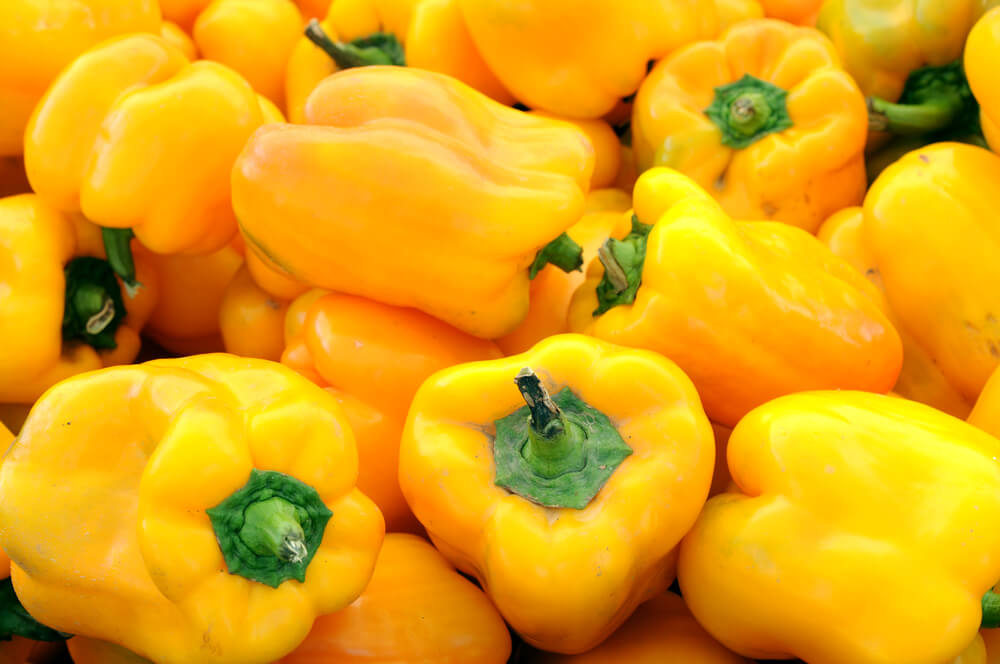 Yellow Bell Pepper benefits