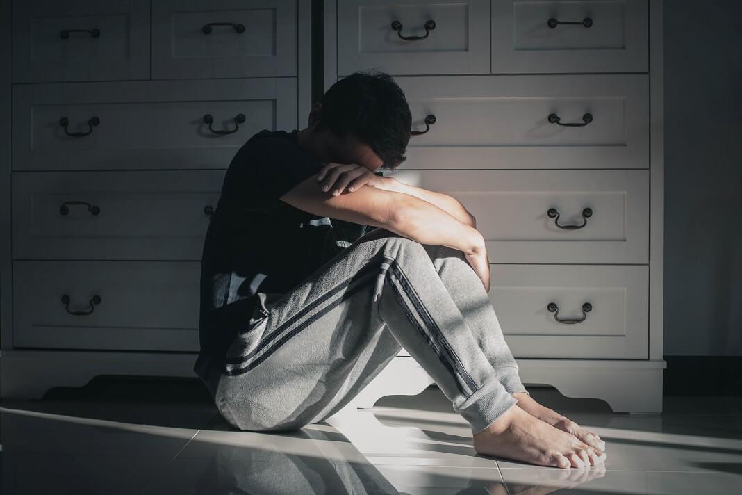 depression man