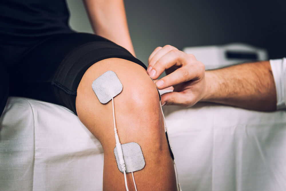 Electrical Stimulation on Knee