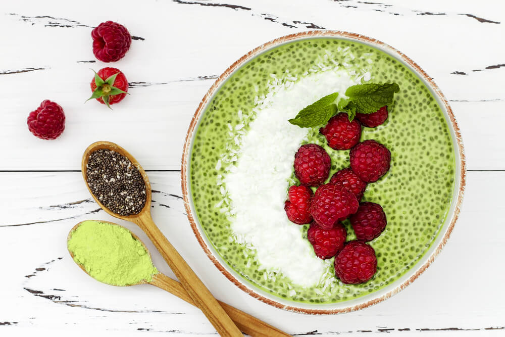 Green Chia Smoothie recipe