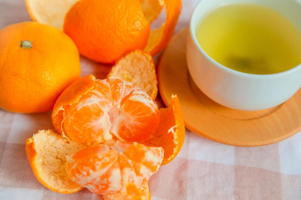 Green Tea and Orange Peel