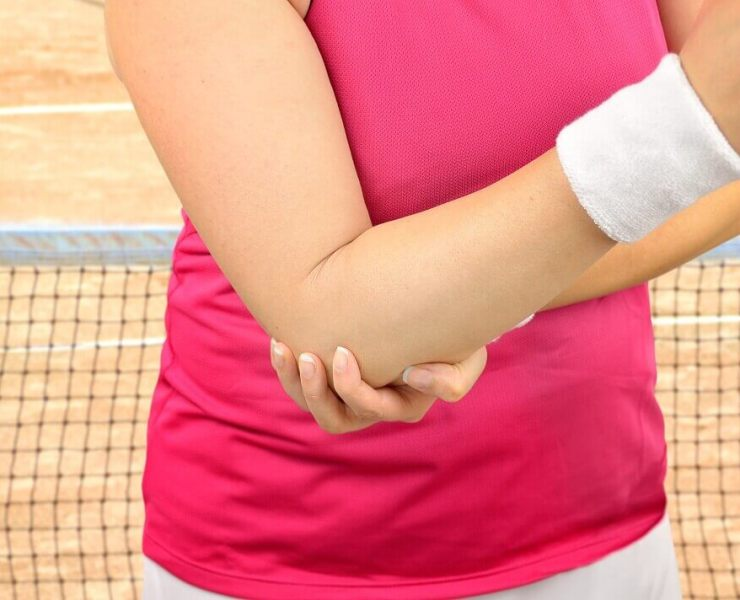 KT Tape for Tennis Elbow