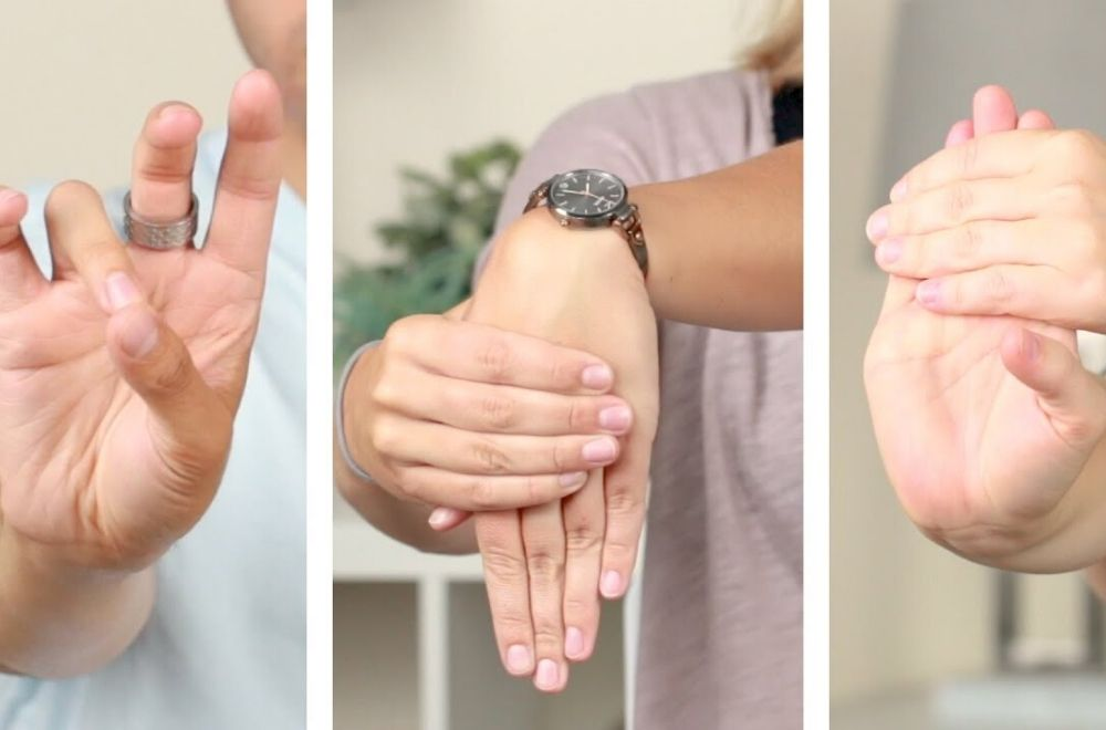 Hand Stretches for Carpal Tunnel