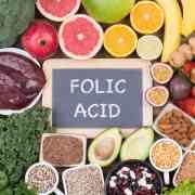 foods high in folic acid