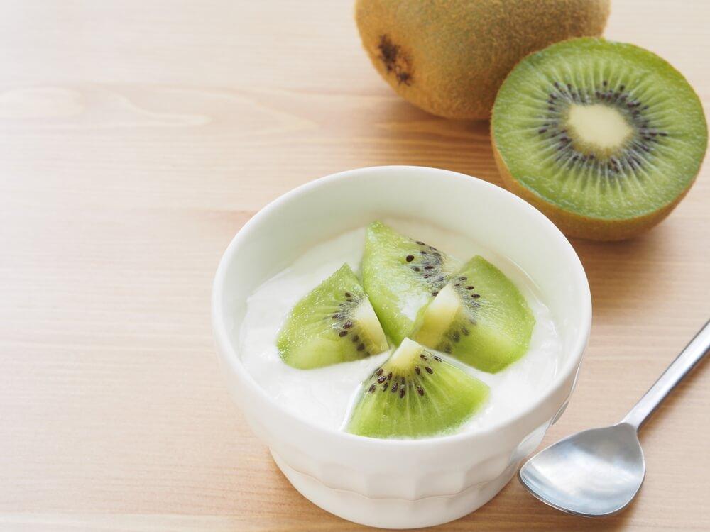 Kiwi and Yogurt