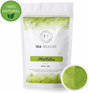 TeaTreasure Organic Japanese Matcha Green Tea
