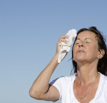 how to stop sweating