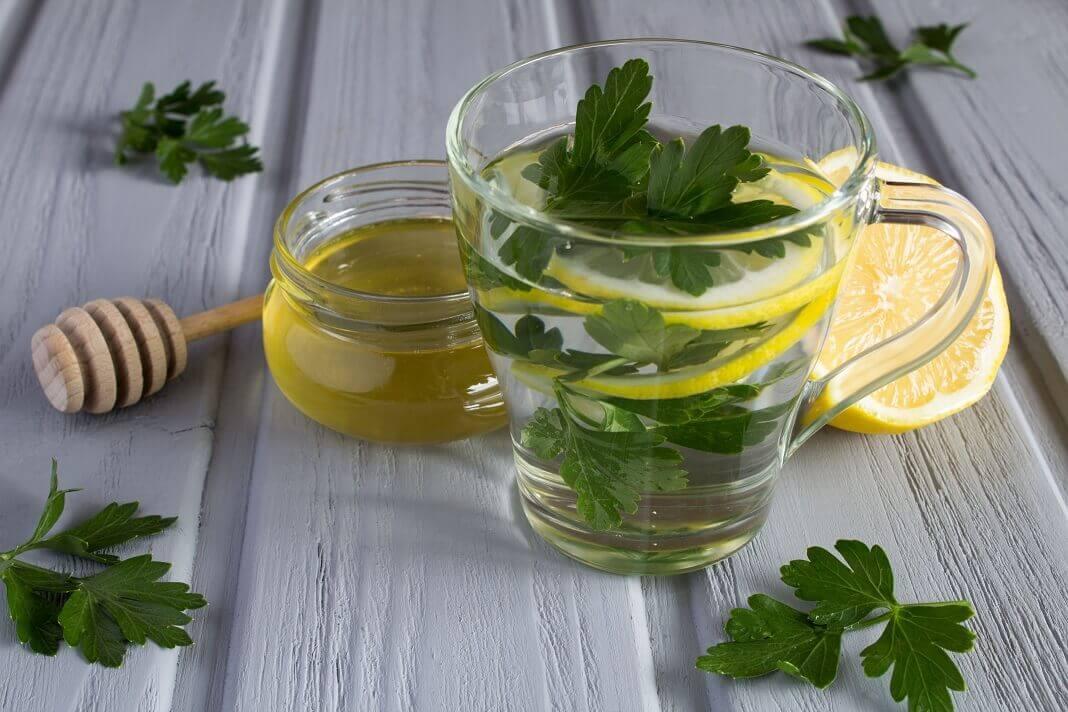 parsley tea benefits