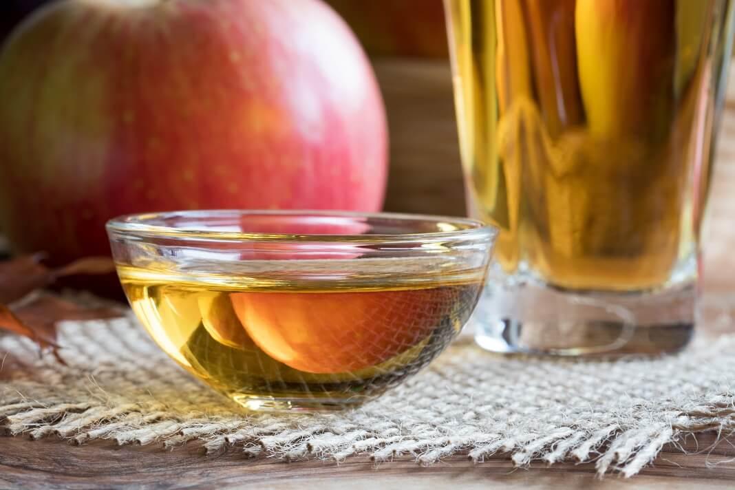 apple cider vinegar bath