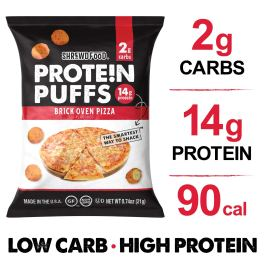 shrewd food protein puffs