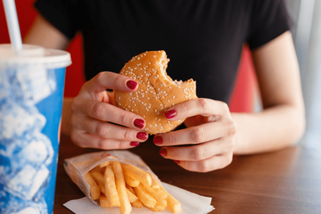 Junk Food And Early Ageing