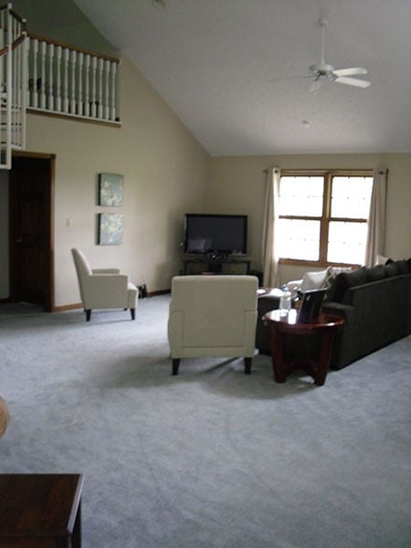 Furniture Placement In An Awkward Space How To Decorate