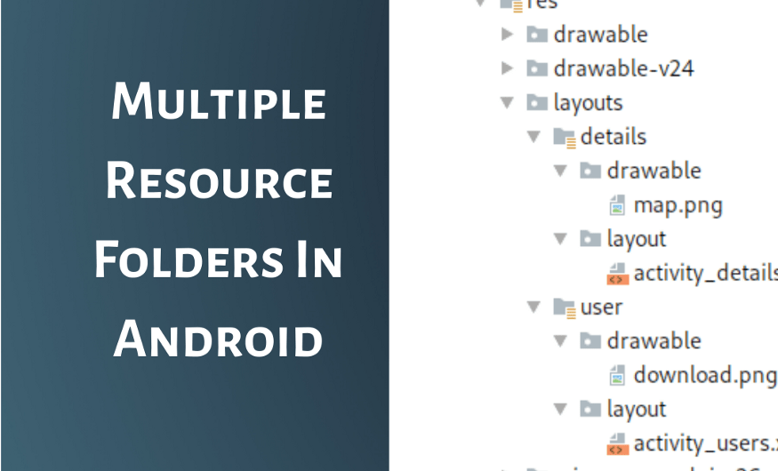 Multiple Resource Folders In Android