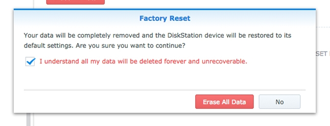 How to Factory Reset Your Synology NAS - How to do easily - Learn