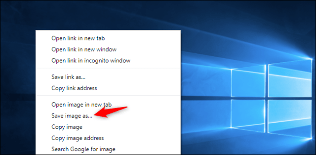 How to download the default background of Windows 10